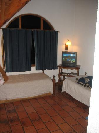 Cabanas Las Cuatro Estaciones: Sofa cama en el living