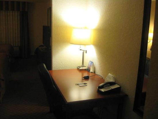 Holiday Inn Express Hotel & Suites St. Petersburg North I-275: desk