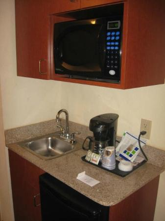 Holiday Inn Express Hotel & Suites St. Petersburg North I-275: microwave