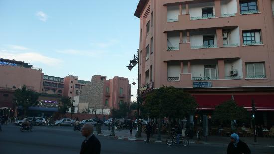 Gueliz: 新市街の街並