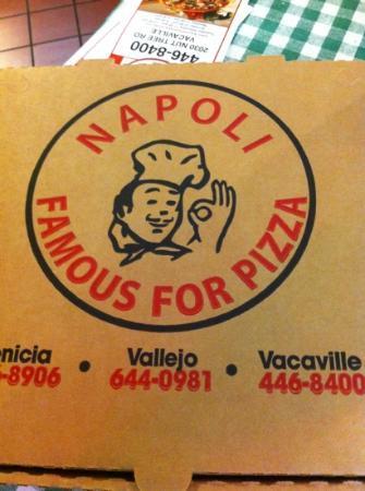 Napoli Pizza Box