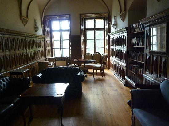 Chateau Hostacov: Library