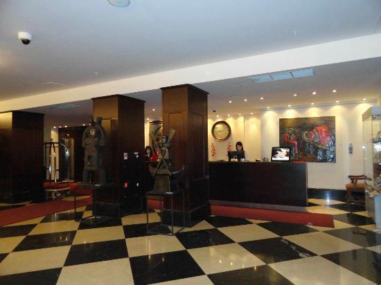 Solo Sokos Hotel Vasilyevskiy: Recepción