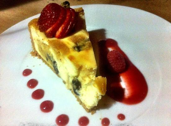 Blau: Cookie Dough Cheese Cake