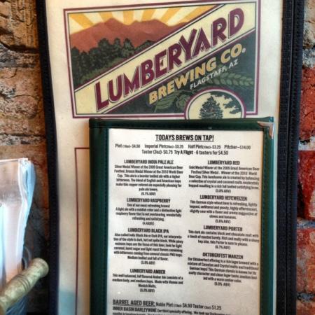 Lumberyard Brewing Company: die home made Biere