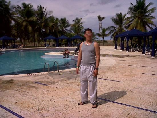 Laguna Mar: en la piscina