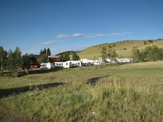 Cripple Creek Hospitality House & Travel Park: RV Parking Campground in Rear Acres