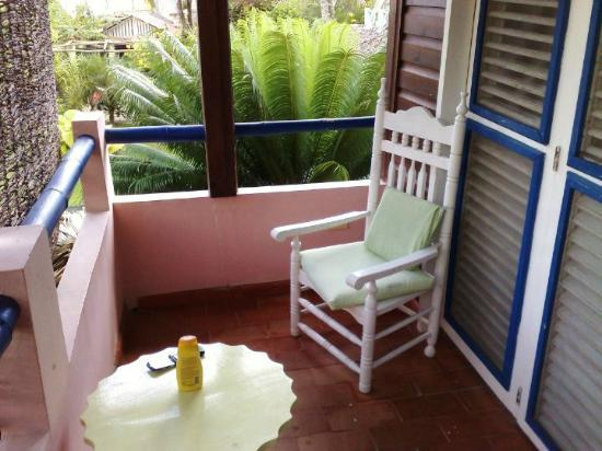 Hotel Casa Robinson : La veranda