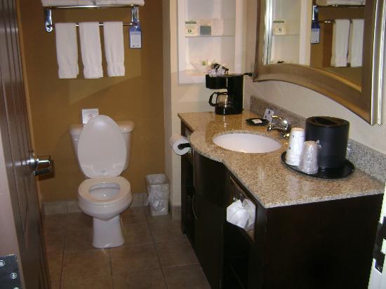 Best Western Plus Bradenton Gateway Hotel: Very attractive bathroom