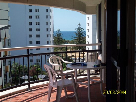 Victoria Square Apartments :                   The Gorgeous View From Our Large Balcony
