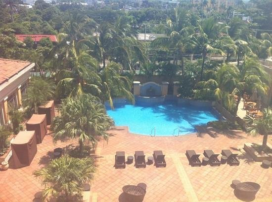 InterContinental Real Managua at Metrocentro Mall: view from my room.