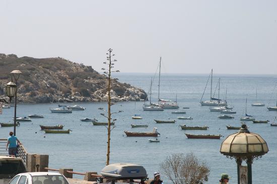 Hotel Regata: marina, view from pool