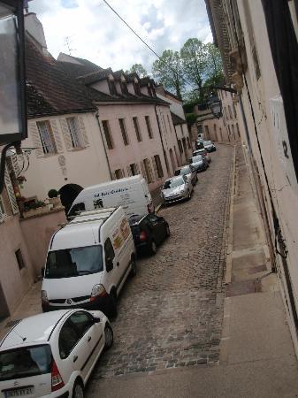Hôtel Athanor : View through my window.