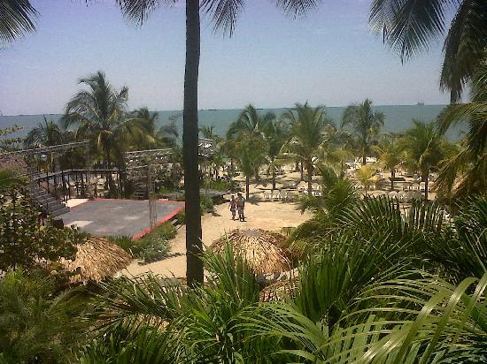 Decameron Galeon: Vista de la playa
