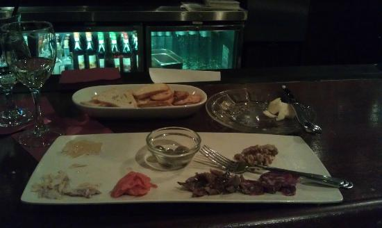 Napa Valley Grille: Charcuterie plate