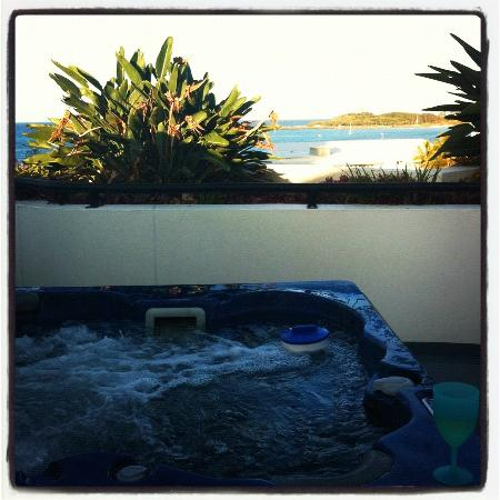 Caribbean Resort Mooloolaba: Private rooftop spa