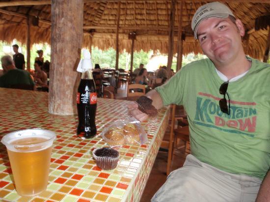 V.I.V. Tours: Enjoying some drinks after the tour