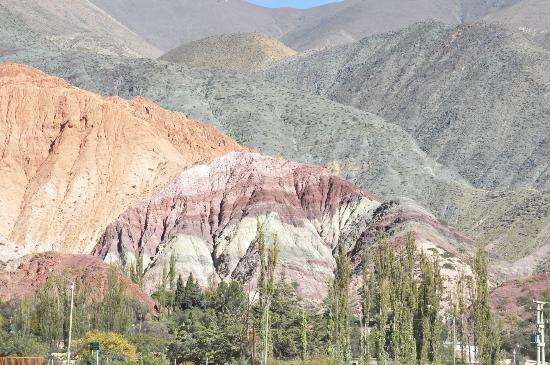 Cerro de los Siete Colores (Berg der sieben Farben): Cerro de los 7 colores