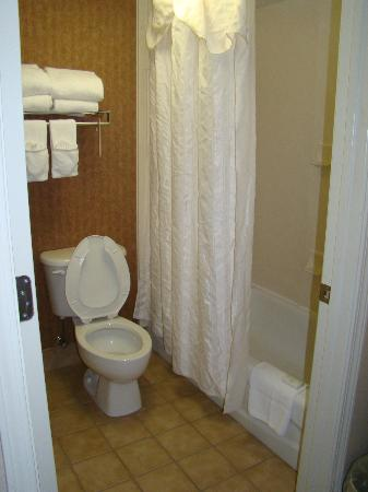 Homewood Suites by Hilton Charlotte Airport: Shower / Toilet Room