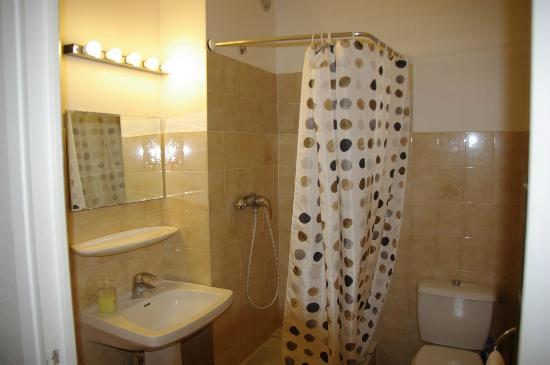 Casa Orsoni : salle de bain et wc