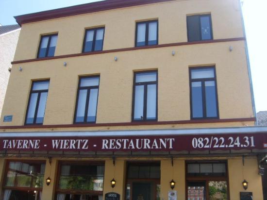Taverne Wiertz : Notre façade