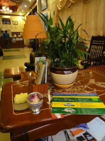 MotherHome Guesthouse: My welcome juice! :)