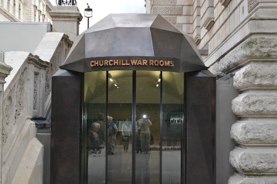 Entrance to the War Rooms - Picture of Churchill War Rooms, London ...