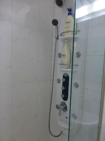 M. Biz Hotel: シャワー