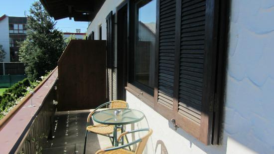 Hotel Garni Landhaus Gitti: balcon