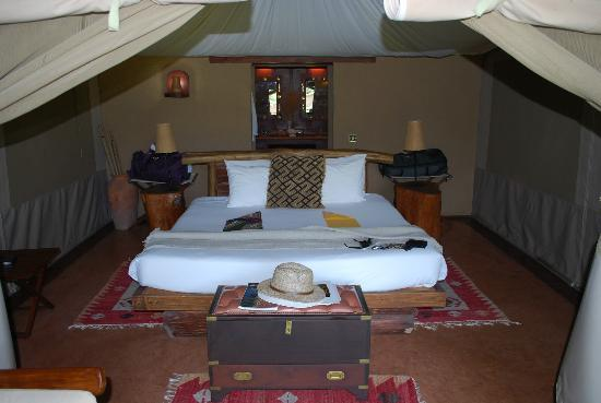 Mara Explorer Camp: Our room