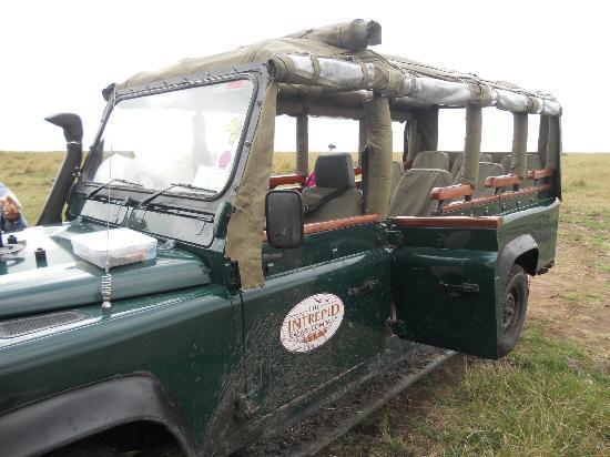 Mara Explorer Camp: Our safari vehicle