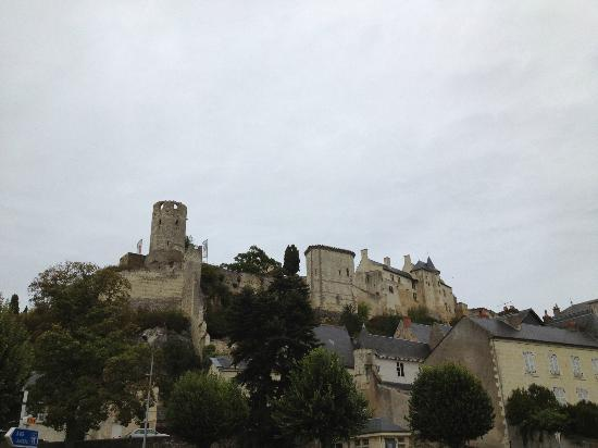 Hotel Diderot : The Chinon Fortress/Castle