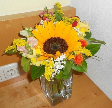 Sonnenspitze Hotel: The bouquet