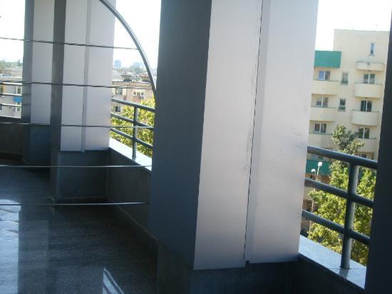 Crystal Palace Hotel: Balcony