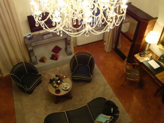 Graziella Patio Hotel: vista desde arriba