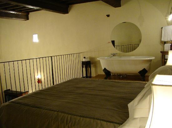 Graziella Patio Hotel: zona alta