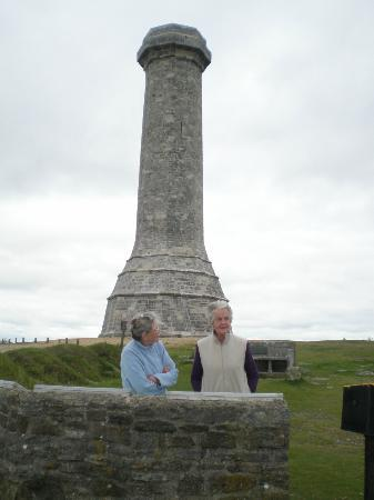 Hardy's Monument: Stark & lonely - but looking out to sea!