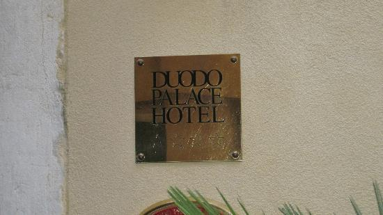 Duodo Palace Hotel: Entrance