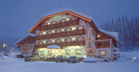 Alba di Canazei, Italia: Hotel La Cacciatora Alba Canazei settimana bianca canazei
