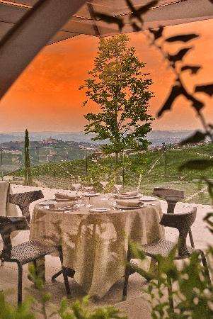 Il Boscareto Resort & Spa: Terrazza Ristorante La REI