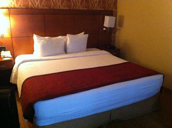 Courtyard by Marriott Dallas Market Center: The king bed