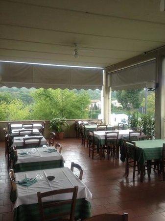 Bucine, Italia: la terrazza