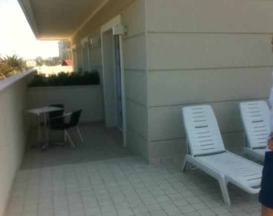 Ambasciatori Hotel: mega terrazza!