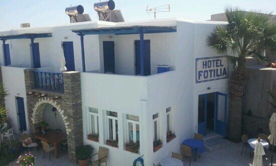 Hotel Fotilia: h?tel dalla camera