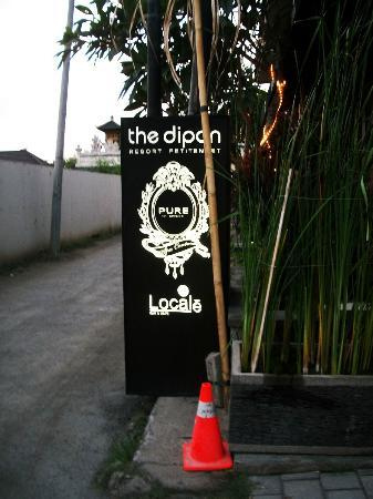 The Dipan Resort Petitenget: Signage you'll see when you see Hu'u Bar