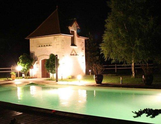 Au Clos de Beaulieu : La piscine