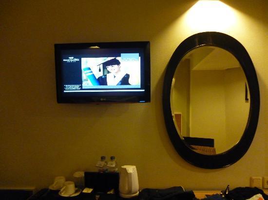 Hotel Santika Premiere Jogja: lcd tv