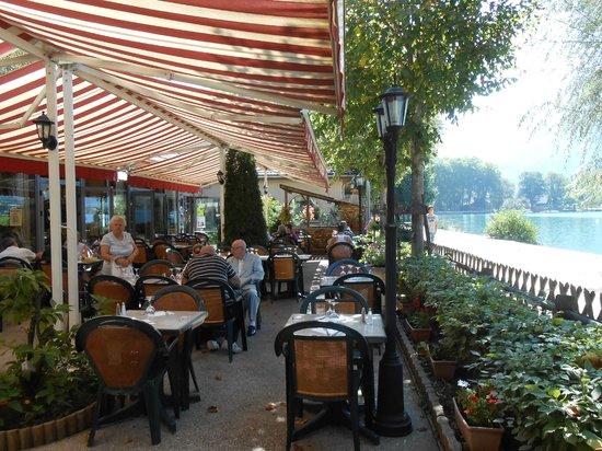 Nantua, Francja: Durdu- la terrasse et le lac