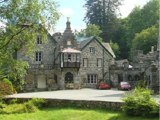 Plas Dolmelynllyn Hall Hotel: The House