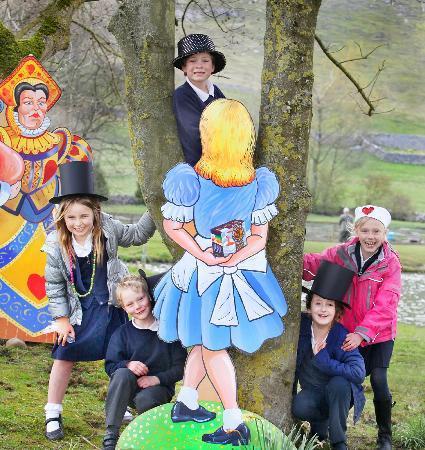 Kilnsey Park: Mad Hatter birthday party at Kilnsey